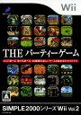 【中古】THE パーティゲーム SIMPLE2000シリーズWii Vol.2ソフト:Wiiソフト/パーティ・ゲーム