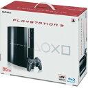 【中古】PlayStation3 HDD 80GB CECH−L00 クリアブラックプレイステーション3 ゲーム機本体
