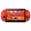 【中古】PlayStation Vita Wi-Fiモデル PCH-2000ZA26 メタリック・レッドPSVita ゲーム機本体