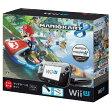 【中古・箱有・説明書無】Wii U マリオカート8 セット クロ (同梱版)Wii U ゲーム機本体