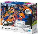 【中古・箱有・説明書無】Wii U スプラトゥーン セットWii U ゲーム機本体