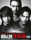 【中古】HiGH&LOW THE RED RAIN 豪華版/TAKAHIROブルーレイ/邦画アクション