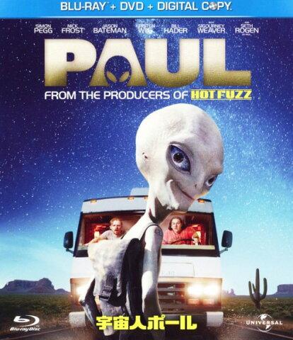 【中古】宇宙人ポール ブルーレイ+DVDセット 【ブルーレイ】/サイモン・ペッグ