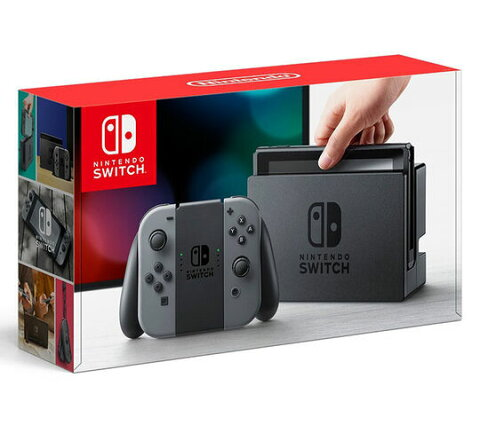 【新品】Nintendo Switch Joy−Con(L)/(R) グレー