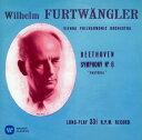 【中古】ベートーヴェン:交響曲第6番「田園」&第8番/フルトヴェングラーCDアルバム/クラッシック