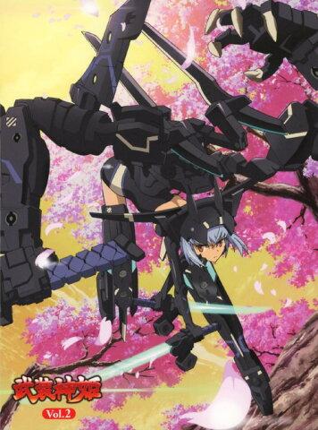 【中古】武装神姫 VOL.2/阿澄佳奈ブルーレイ/OVA
