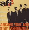 其它 - 【中古】Answer That And Stay Fashionable/AFICDアルバム/洋楽パンク/ラウド
