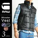 SALE セール 【30%OFF/送料無料】G-STAR RAW ジースターロウ アウター 中綿ナイロンベスト Whistler Vest メンズ GSTAR D03251.6931【..