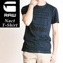 SALEセール 30%OFF G-STAR RAW ジースターロウ Nact T-Shirts ナクト Tシャツ ジャージーTシャツ D04466-8653【ss】