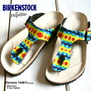 【BIRKENSTOCK ビルケンシュトック】30%OFF! 2010年春夏 RAMSES ラムゼス(Papillio) タイダイ柄 Tie Dye Pattern