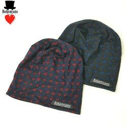 【Bohemiansボヘミアンズ】ジャイプルハートワッチキャップBH-09JAIPURHEARTS/M/帽子/男女兼用/BH-09JA-HEART