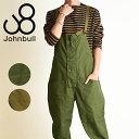 裾上げ無料 ジョンブル Johnbull メンズ ワークオーバーオール サロペット 21336 アウトドア セットアップ