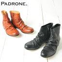 パドローネ PADRONE パドロネ シワ加工サイドジップブーツ CLAUDIO PADRONE PU8395-1105-14C