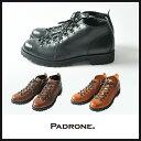 PADRONE パドローネ ショート トレッキングブーツ(サイドZIP付き)BENITO メンズ PU7358-1224【コンビニ受取対応商品】