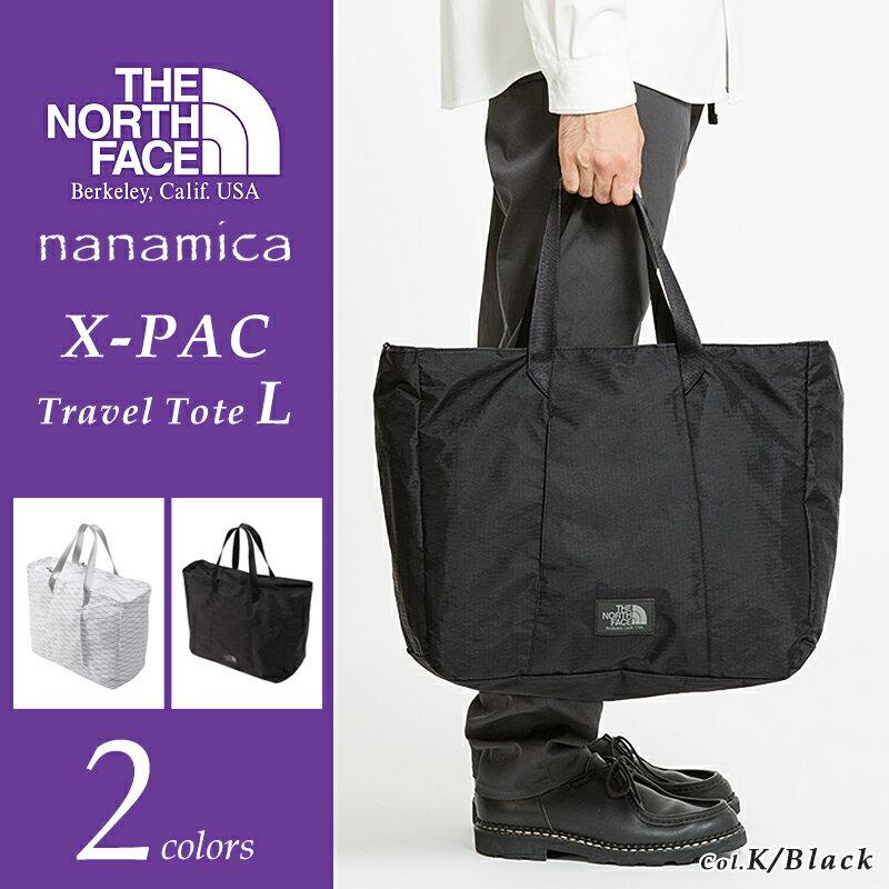 ノースフェイス パープルレーベル X-PACトラベルトートバッグ Lサイズ