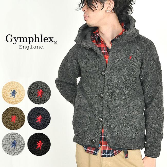Gymphlex ジムフレックス フードボアジャケット Gymphlex J-0855PL【コンビニ受取対応商品】10P03Dec16