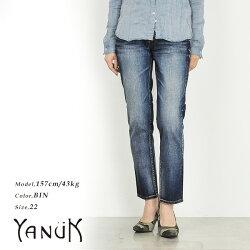 YANUKヤヌークCECIL(セシル)ボーイズスリムクロップドデニムパンツYANUK57161054