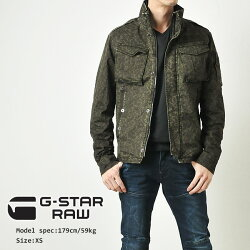 """G-STARRAW�����������?����ե����ߥ����㥱�å�""""ROVICOVERSHIRT""""D00801-W034"""