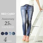 RED CARD レッドカード Anniversary 25th ボーイフレンド テーパードデニムパンツ25周年モデル REDCARD 48506【コンビニ受取対応商品】