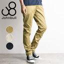 ショッピングポイント10倍 新作 裾上げ無料 ジョンブル Johnbull コンフォートトラウザーパンツ メンズ チノパンツ チノパン 21080