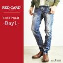 【ポイント10倍/送料無料】RED CARD レッドカード メンズ デニムパンツ/ジーンズ Day1 27808【コンビニ受取対応商品】