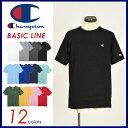 Champion チャンピオン 送料無料(メール便)Tシャツ ベーシックライン クルーネックTシャツ BASIC LINE CREW NECK T-SHIRTS C3-D355【コンビニ受取対応商品】10P03Dec16