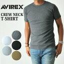 AVIREX アビレックス クルーネック半袖Tシャツ 617352(6143502)avirex ア...