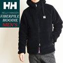 ヘリーハンセン HELLY HANSEN ファイバーパイルフーディー メンズ FIBERPILE Hoodie パーカー フリースジャケット ボア HE51976 HH ブラック
