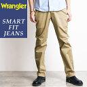 Wrangler ラングラー ノータック チノパンツ トラウザーパンツ 股上深めストレッチ ストレート メンズ ビジカジ パンツ WM4503