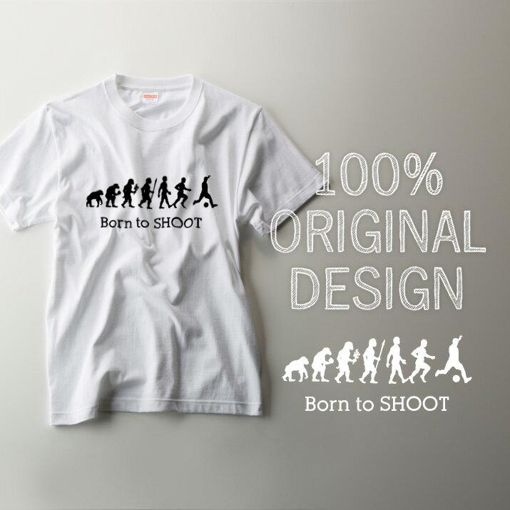 サッカーTシャツBorntoSHOOT名入れTシャツ