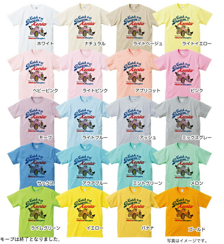 【PEDALCAR】 名入れTシャツの紹介画像2