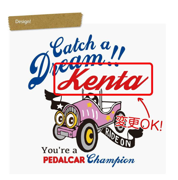 【PEDALCAR】 名入れTシャツの紹介画像3