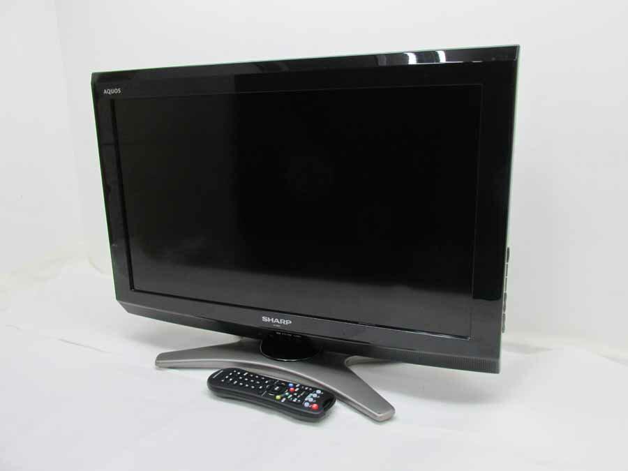 【あす楽】【中古 液晶テレビ】シャープ 26V型 ハイビジョン 液晶テレビ アクオス LC-26E8 ホテル仕様 ブラック 2011年製