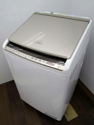【中古 洗濯機】日立 <strong>ビートウォッシュ</strong> タテ型 洗濯乾燥機 BW-DV100E 洗濯10.0kg 乾燥5.5kg AIお洗濯 シャンパン 2019年製 【L】中古洗濯機 洗濯機 家電 4〜6人用 大家族 ファミリー 大型 激安 価格 安い おすすめ 一人暮らし サイズL 乾燥機能付