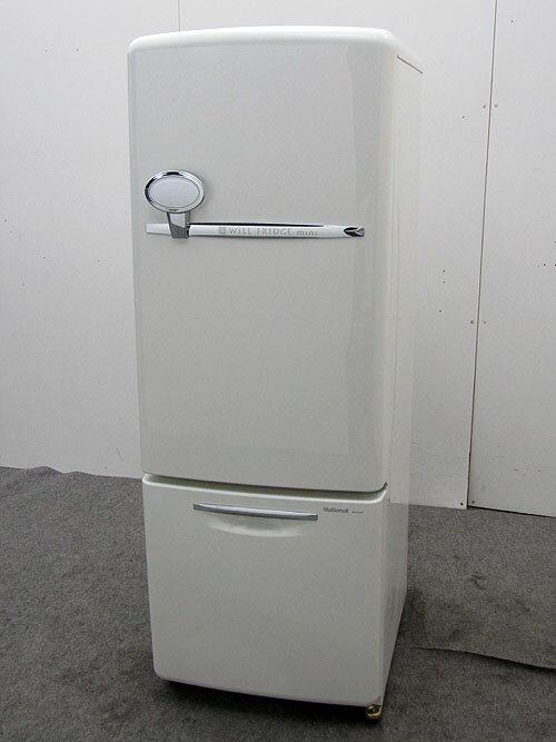Will ウィル ナショナル 冷凍冷蔵庫 NR-B162R-W 162L 2004年製【中古冷蔵庫】【一人暮らし】【冷蔵庫】【◆M◆】【中古】【おすすめ】【USED】