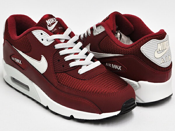 Nike Air Max 90 Essential (Team Red/Light Base Grey-Sail) 1 ...