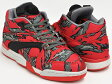 Reebok X STASH COURT VICTORY PUMP【リーボック スタッシュ コート ビクトリー ポンプ】RED / FOGGY GRY / STEEL