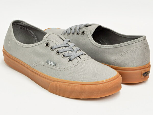 Vans Gray Gum Sole