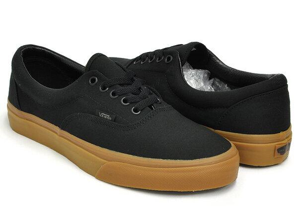 vans shoes black gum sole