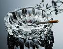 【送料無料】G-HOUSE(ジーハウス) ファッション デザイン 高品質ガラス製灰皿 HM-0741(19cm) 【プレゼント】【 お祝い】【 記念品】【ギフト用】 【 灰皿 ガラス おしゃれ デザイン モダン】