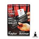【手品 マジック】Any Signed Card to Any Spectator's Wallet - BLACK (DVD and Gimmick) By ...