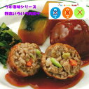≪うす塩味シリーズ≫野菜いろいろ肉団子【3大アレルギー不使用...