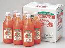 ショッピングトマトジュース とまとジュース「ふるさとの元気」500ml×6本北海道トマト「桃太郎」100%使用!【送料無料】【SALE】