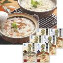 """北海道 竹田食品北の雑炊セット(かに 鮭)6食""""温めるだけで本格的な雑炊の出来上がり。"""""""
