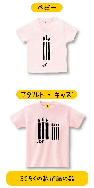オリジナルカスタム キャンドル TEE おもしろTシャツ メッセージtシャツ 誕生日プレゼント 女性 男性 女友達 おもしろ プレゼント ギフト GIFTEE