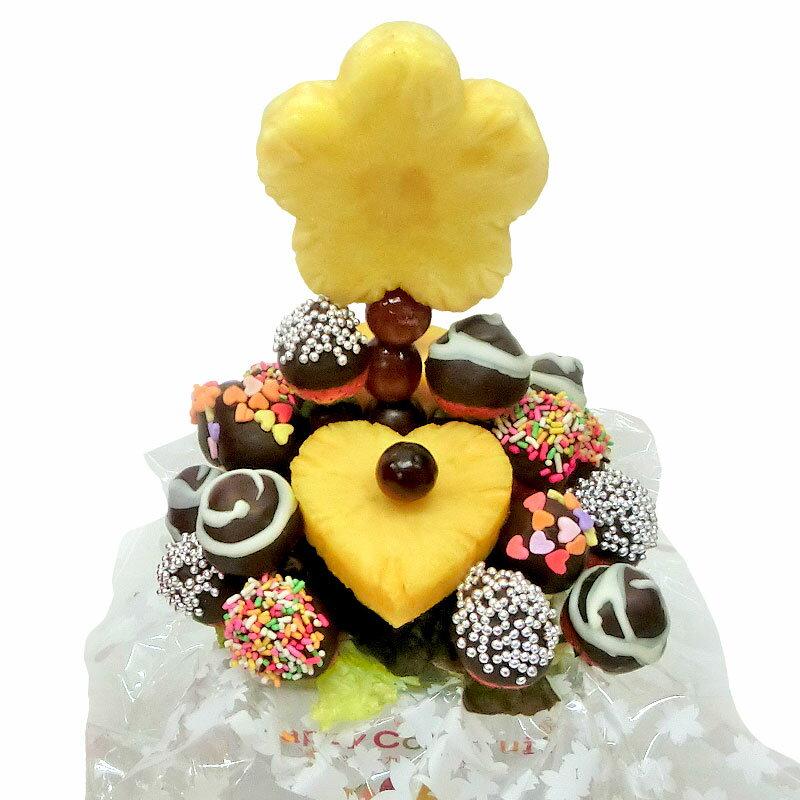 [ギフトパーク]果物イチゴ苺詰め合わせチョコいちごブーケフルーツフラワーギフトフルーツチョコレートサ