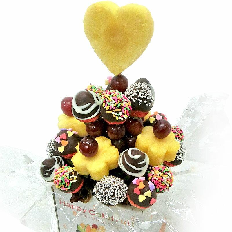 [ギフトパーク]果物イチゴ苺詰め合わせチョコいちごブーケ大フルーツフラワーギフトフルーツチョコレート