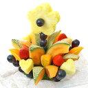 [ギフトパーク]果物 詰め合わせ【デイジー】ハッピーカラフルーツフラワーギフト カッ