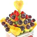 [ギフトパーク]バースデーギフト フルーツギフト[秋のハートブーケ]誕生日 バースデーケーキ 結婚記念日 サプライズプレゼント パーティー ...