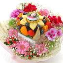 [ギフトパーク]写真入りケーキ[写真ケーキ]ミニフォト花プラ...